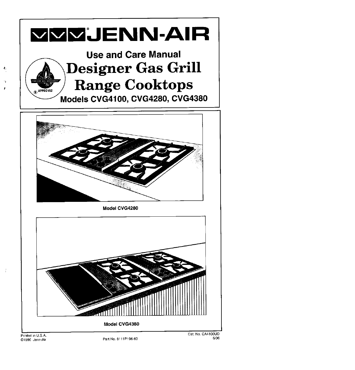 Jenn Air Cooktop 0vg4280 User Guide Manualsonline Com