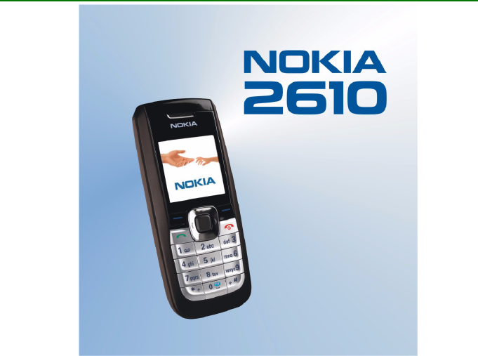nokia cell phone 2610 user guide manualsonline com rh cellphone manualsonline com nokia mobile phones user manuals nokia windows phone user manual