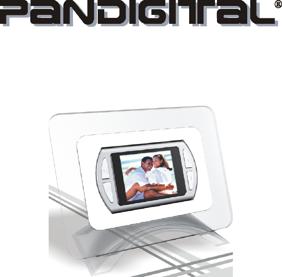 Pandigital Digital Photo Frame PAN1802A User Guide | ManualsOnline.com