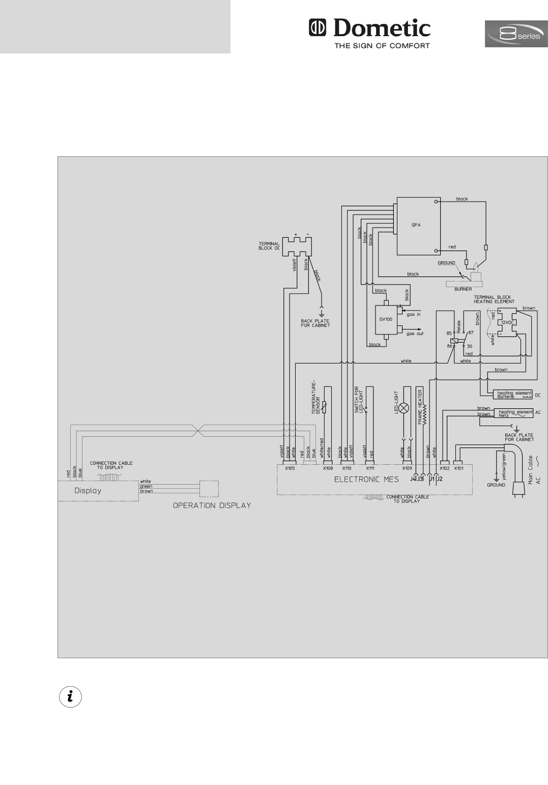 Page 20 of Dometic Refrigerator RMD 8551 User Guide