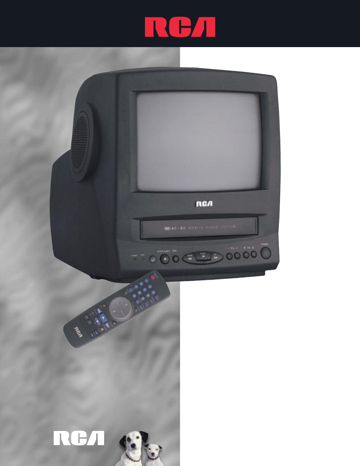 rca tv vcr combo t09082 user guide manualsonline com rh tv manualsonline com 27 TV DVD VCR Combo TV DVD Combo
