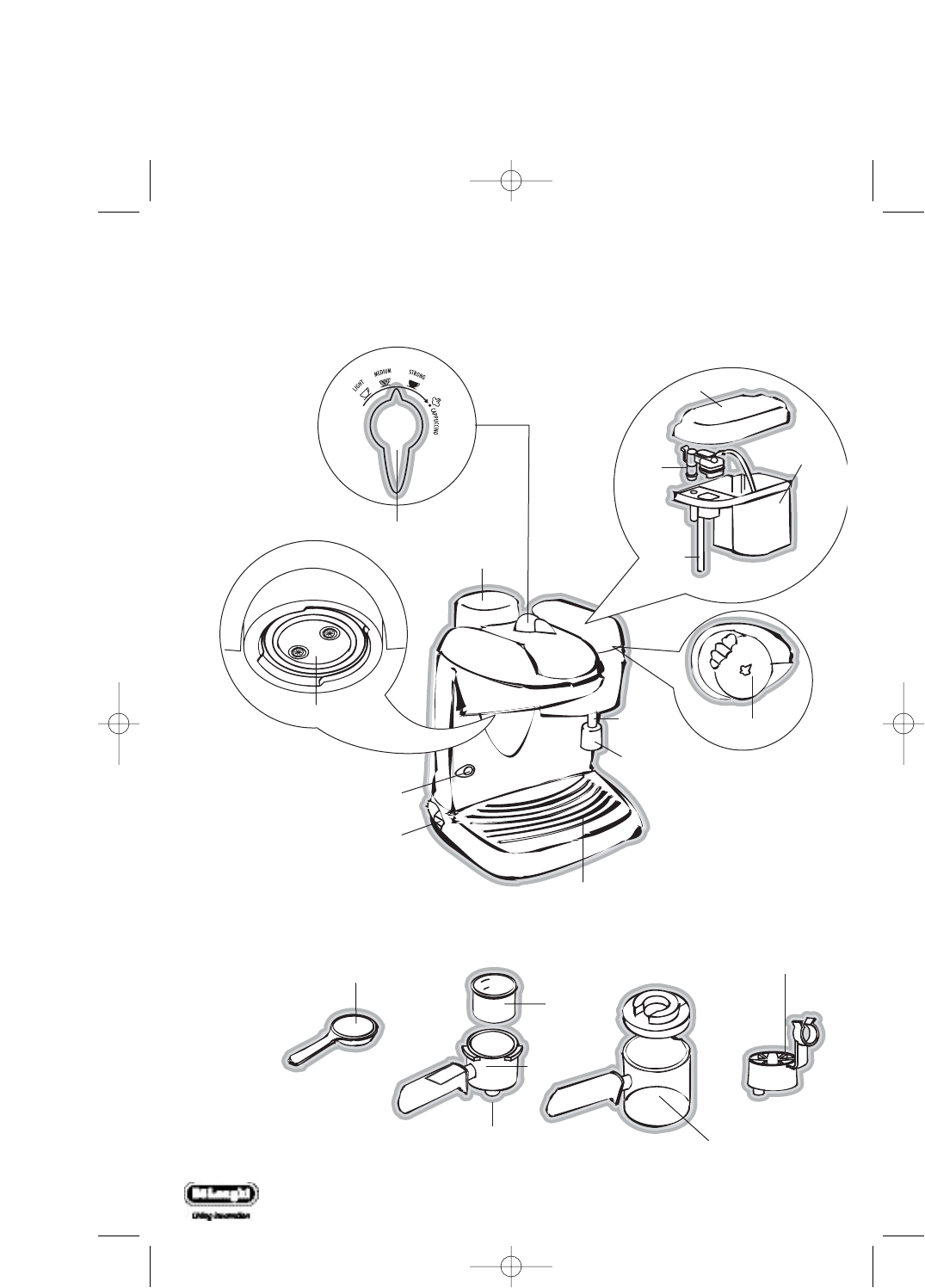 Page 2 of DeLonghi Coffeemaker EC9 UK User Guide ManualsOnline.com