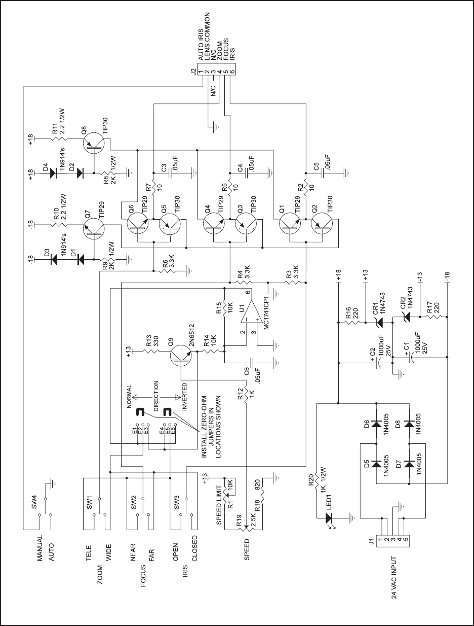 pelco camera wiring diagram security camera cable wire
