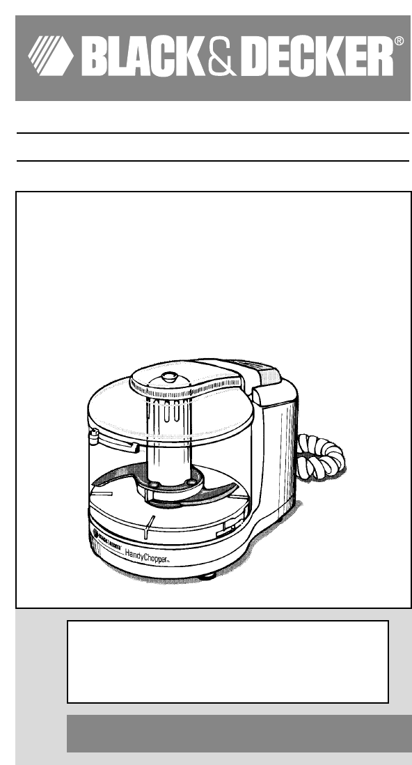 How To Use Black And Decker Food Processor Fx