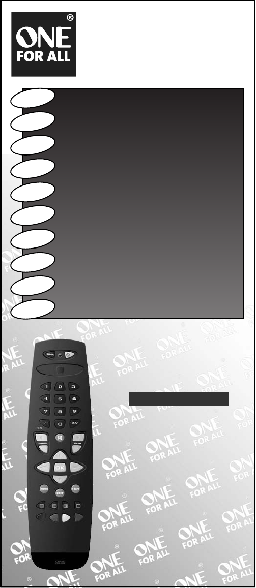 One For All Universal Remote Urc 7711 User Guide Manualsonline