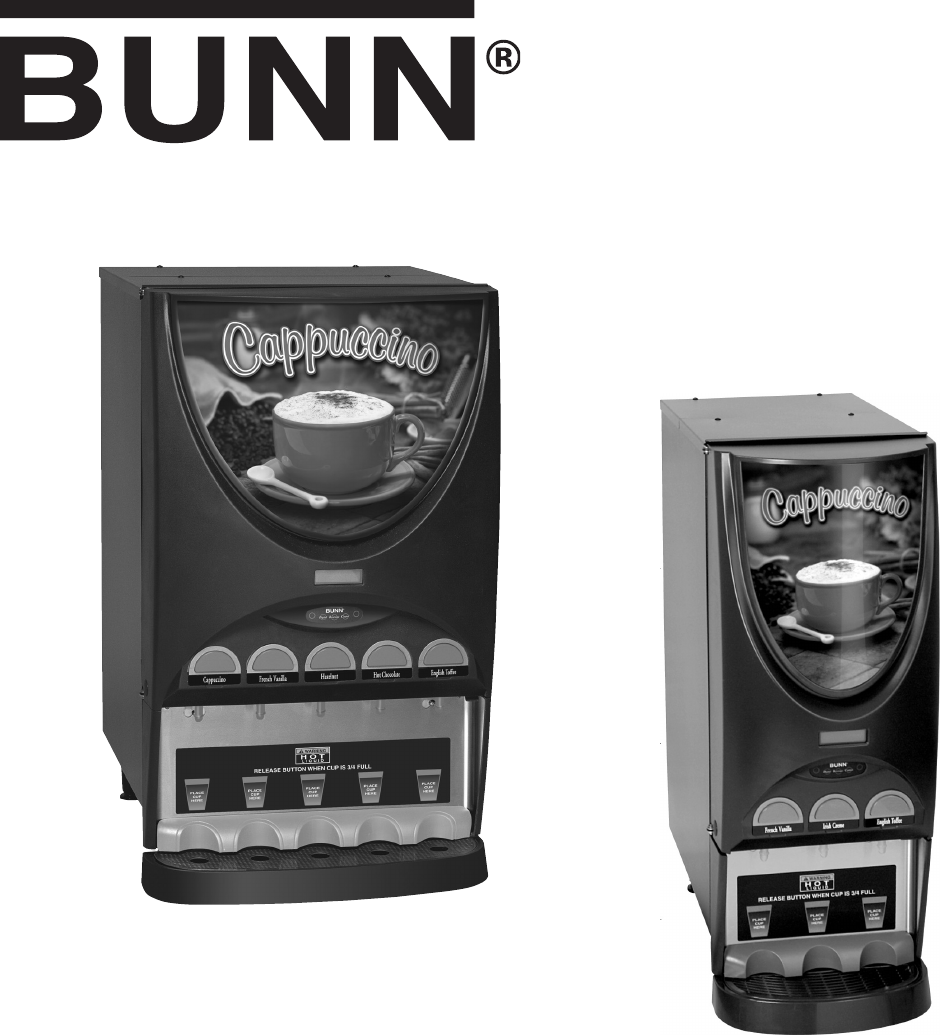 Bunn Coffee Maker User Guide : Bunn Coffeemaker 5 User Guide ManualsOnline.com