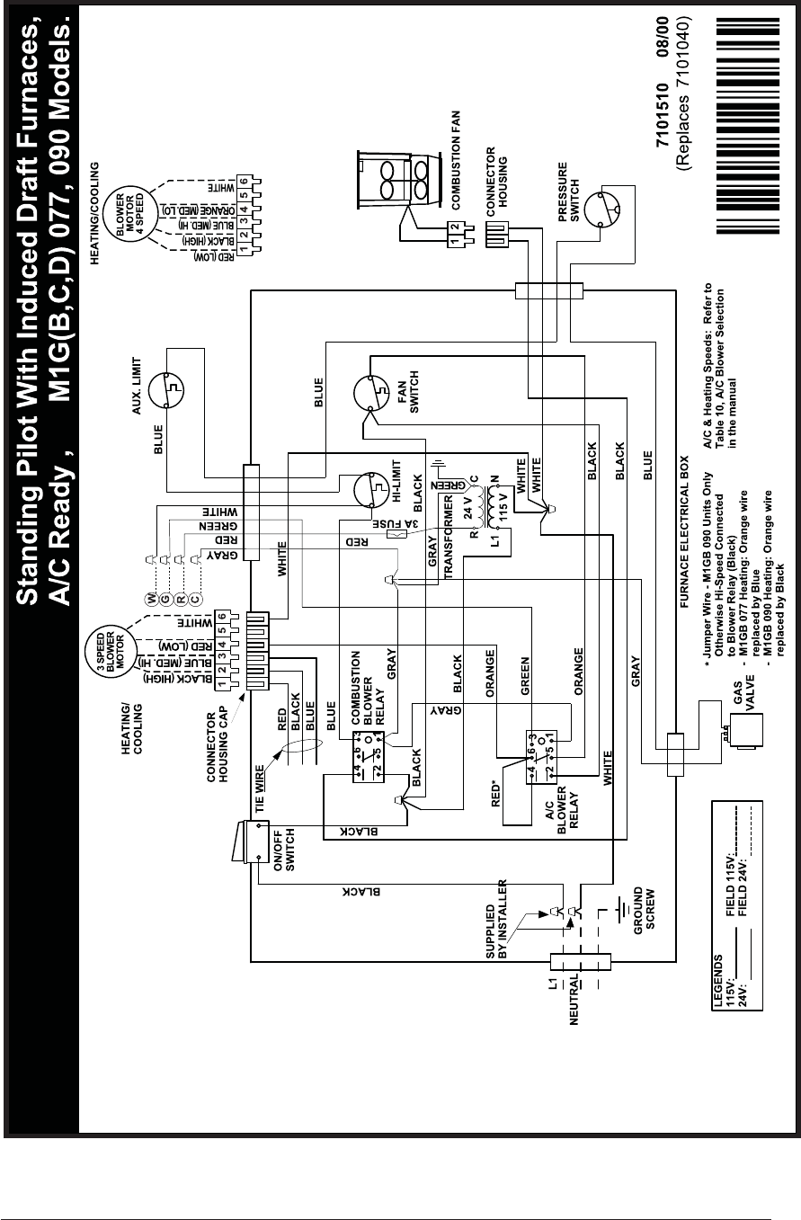 page 37 of nordyne furnace and m5s user guide