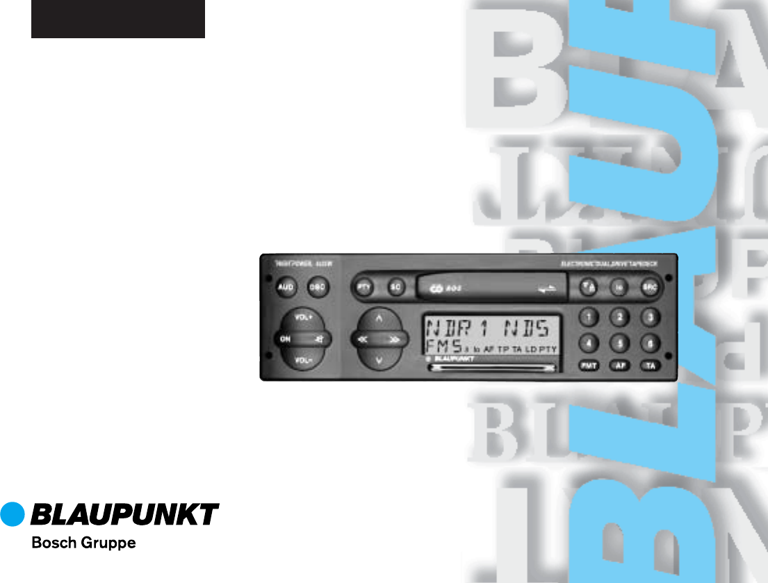 Blaupunkt FREIBURG RCR 127. Blaupunkt FREIBURG RCR 127 Car Stereo System