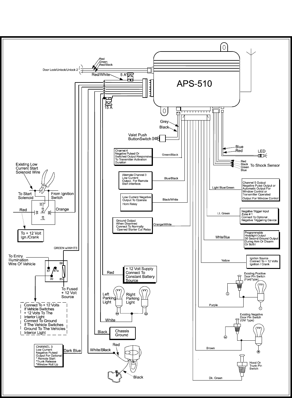 063ed920 b917 4478 a8a8 016b55389332 bg8 page 8 of audiovox automobile alarm aps 510 user guide audiovox car alarm wiring diagram at gsmx.co
