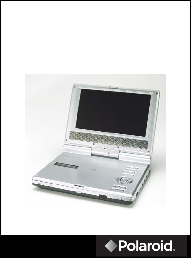 polaroid portable dvd player pdm 0722 user guide. Black Bedroom Furniture Sets. Home Design Ideas