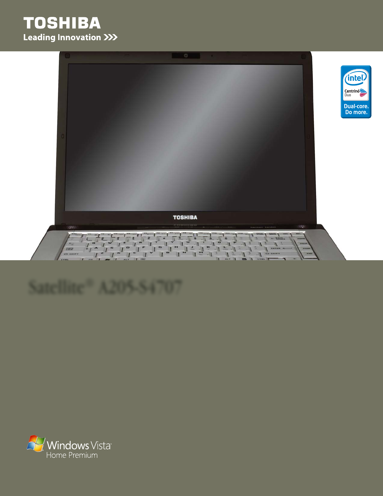 toshiba laptop a205 s4707 user guide manualsonline com rh office manualsonline com Toshiba Laptops toshiba satellite a205 manual