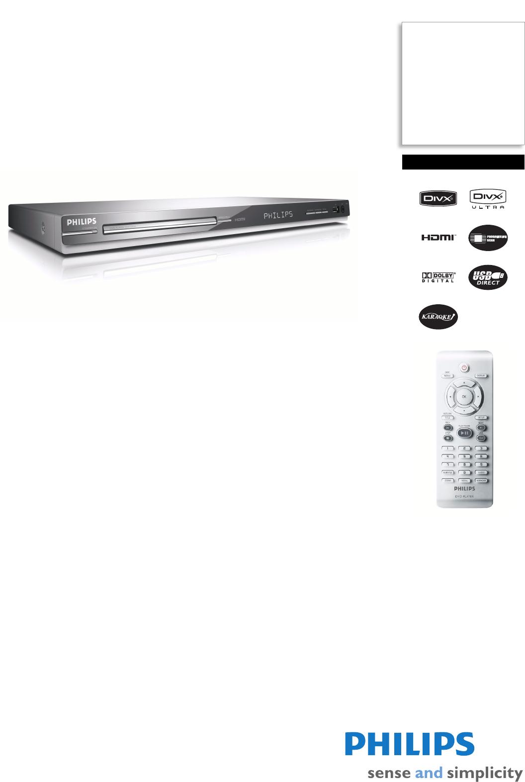 philips dvd player dvp5980k user guide manualsonline com rh tv manualsonline com philips dvp3618/94 dvd player user manual Sony DVD Player