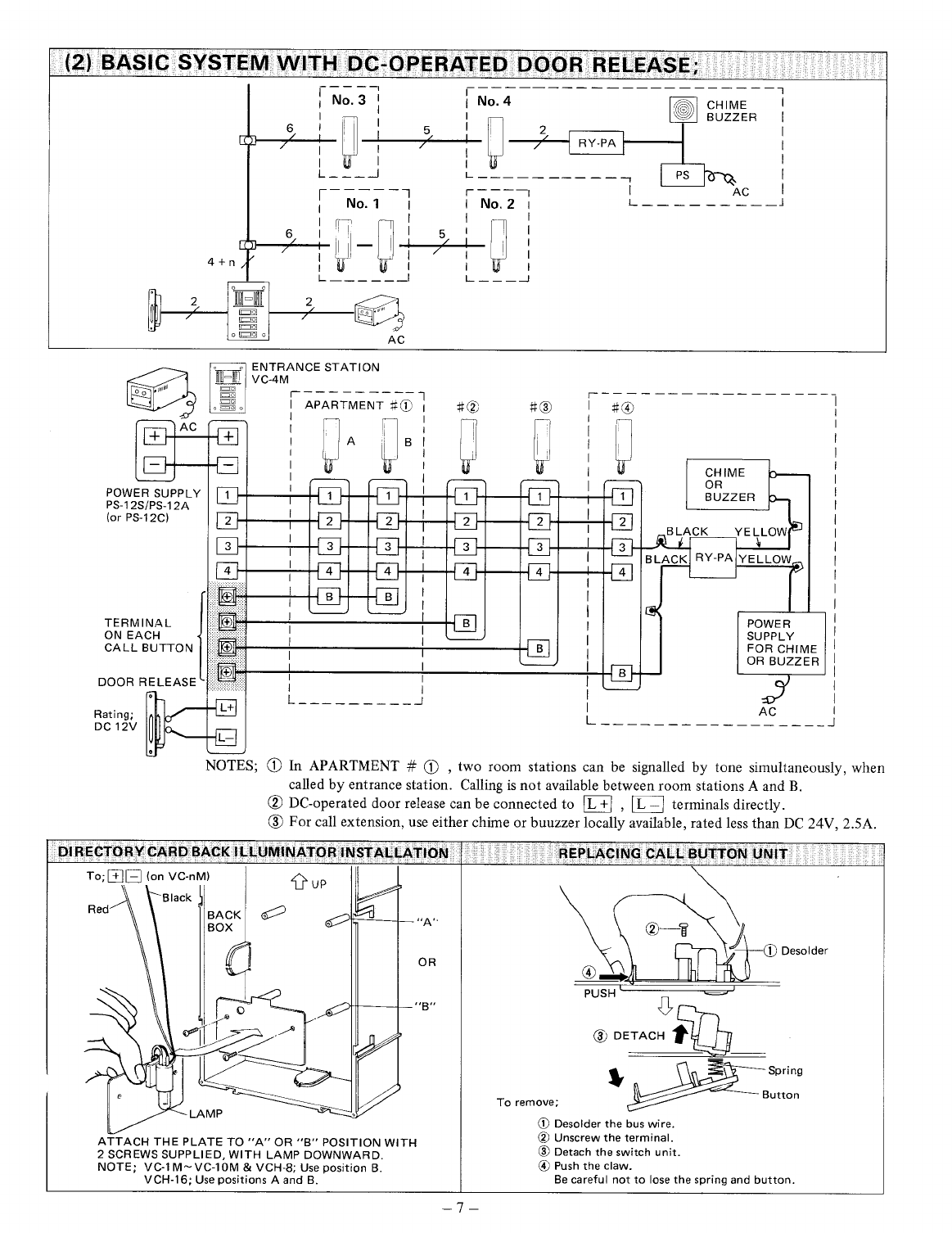 0706a428 eacf 4265 abeb d2b6a034a492 bg7 page 7 of aiphone intercom system vc k user guide manualsonline com aiphone vc-k wiring diagram at mifinder.co