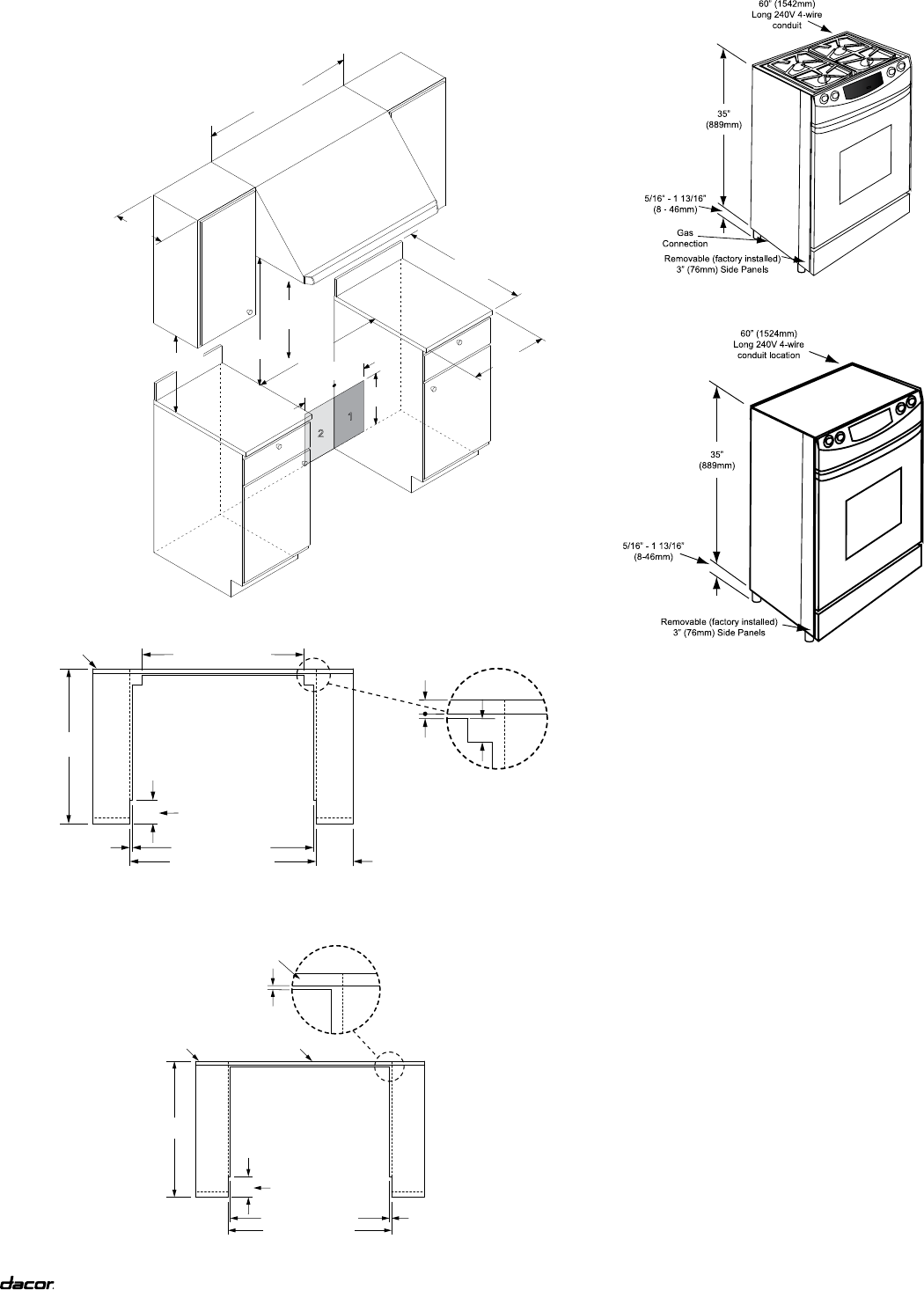 page 4 of dacor range rsd30 user guide manualsonline com rh kitchen manualsonline com Dacor Range Review Dacor Parts List