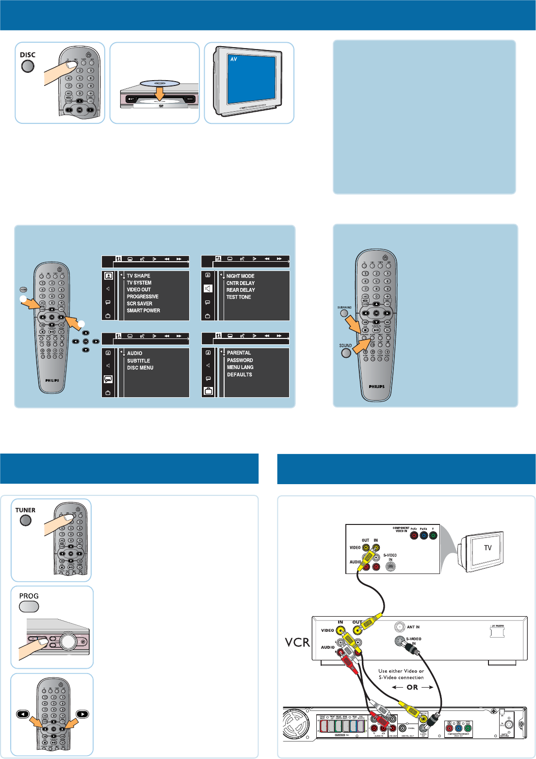 page 2 of philips stereo system hts3410d user guide manualsonline com rh audio manualsonline com Philips TV Manual Philips DVD Player Manual