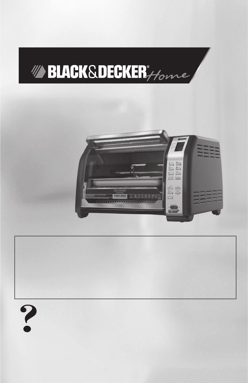 Convection Ovens: Black And Decker Convection Oven Manual