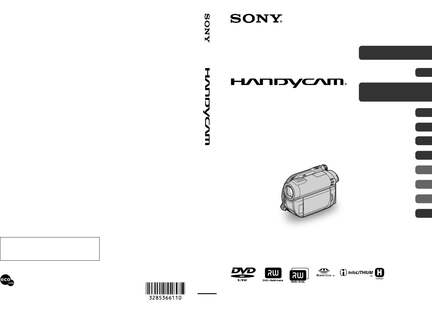 sony camcorder dcr dvd810 user guide manualsonline com rh manualsonline com
