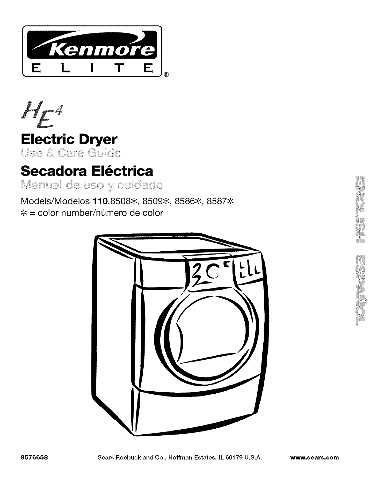 Kenmore clothes dryer 1108586 user guide manualsonline swarovskicordoba Choice Image