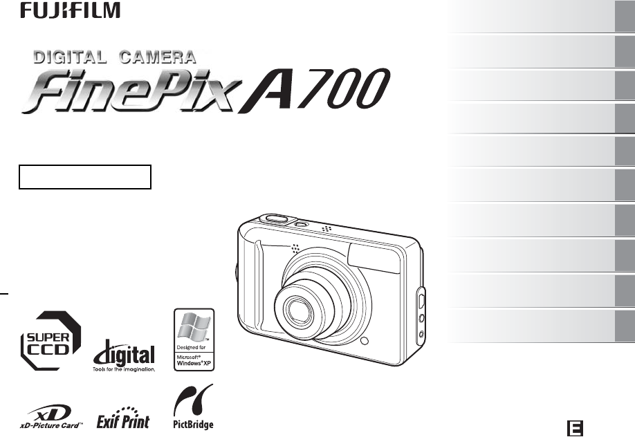 fujifilm digital camera finepix a700 user guide manualsonline com rh camera manualsonline com