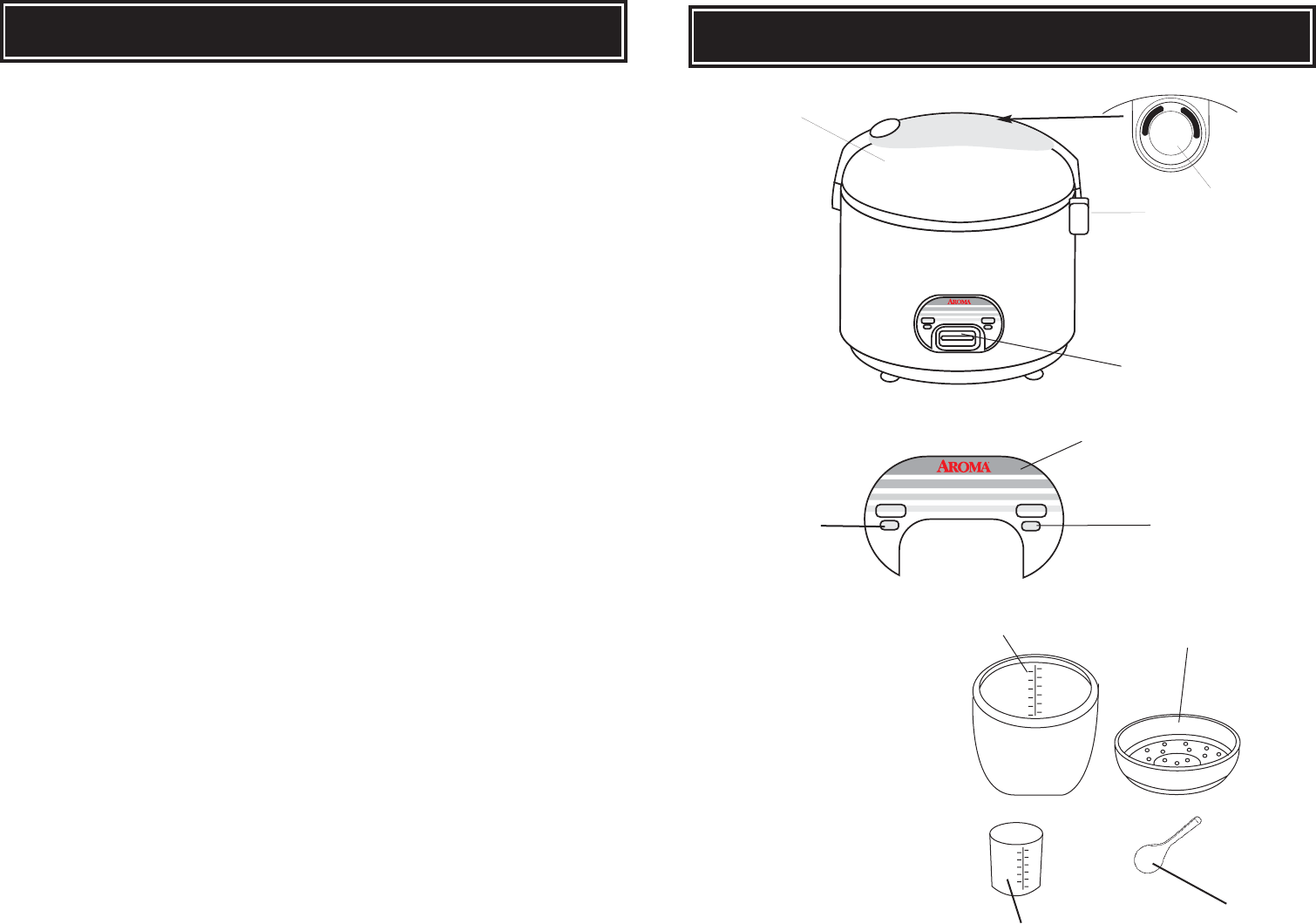 page 6 of aroma rice cooker arc 946 user guide manualsonline com rh kitchen manualsonline com Aroma Logo Colorful Art