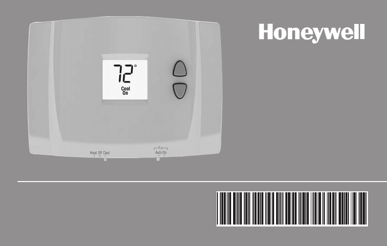 Honeywell thermostat rth111b1016e1 user guide manualsonline operating manual rth111 series asfbconference2016 Gallery