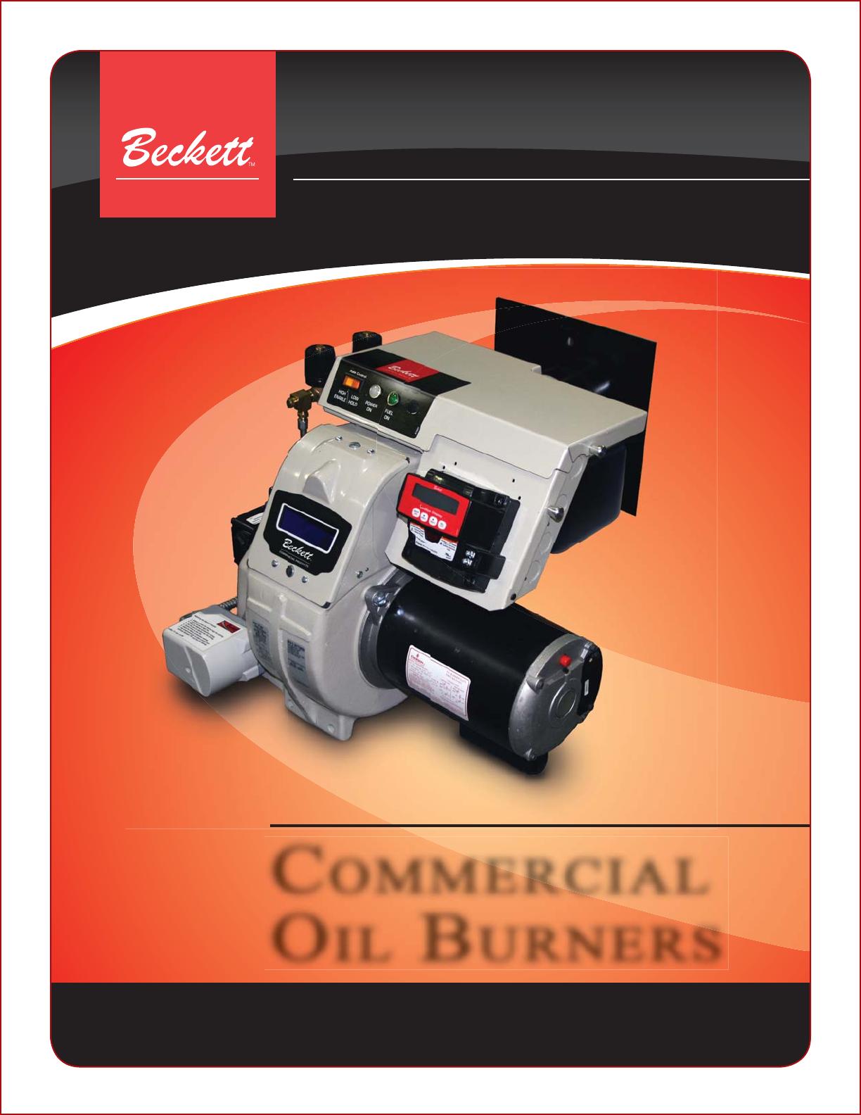 beckett burner cf3500a user guide manualsonline com rh homeappliance manualsonline com Beckett Oil Burner Nozzle Size Beckett Oil Burner Fuel Pump
