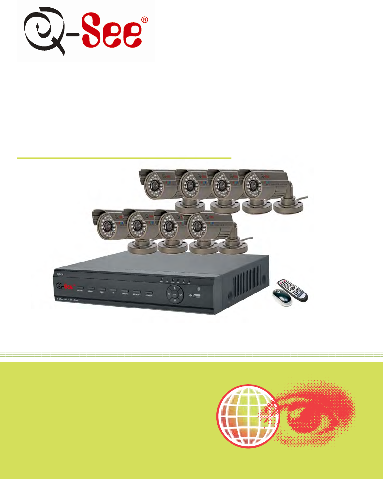 q see home security system qt428 803 user guide manualsonline com rh homeappliance manualsonline com Q-See ManualDownload Q See 8 Camera Surveillance