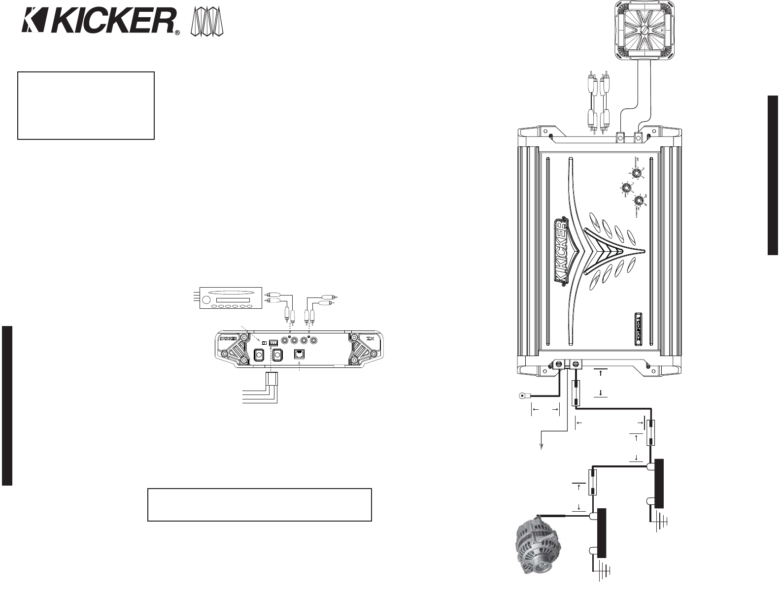 [EQHS_1162]  Page 2 of Kicker Car Stereo System ZX1000.1 User Guide | ManualsOnline.com | Zx1000 Wiring Diagram |  | User Manuals - ManualsOnline.com