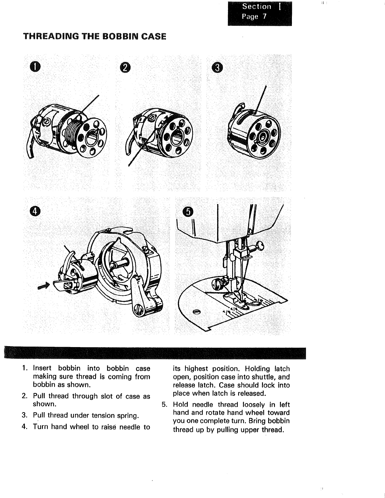 Page 8 Of Kenmore Sewing Machine 1250 User Guide Manualsonlinecom Threading Diagram