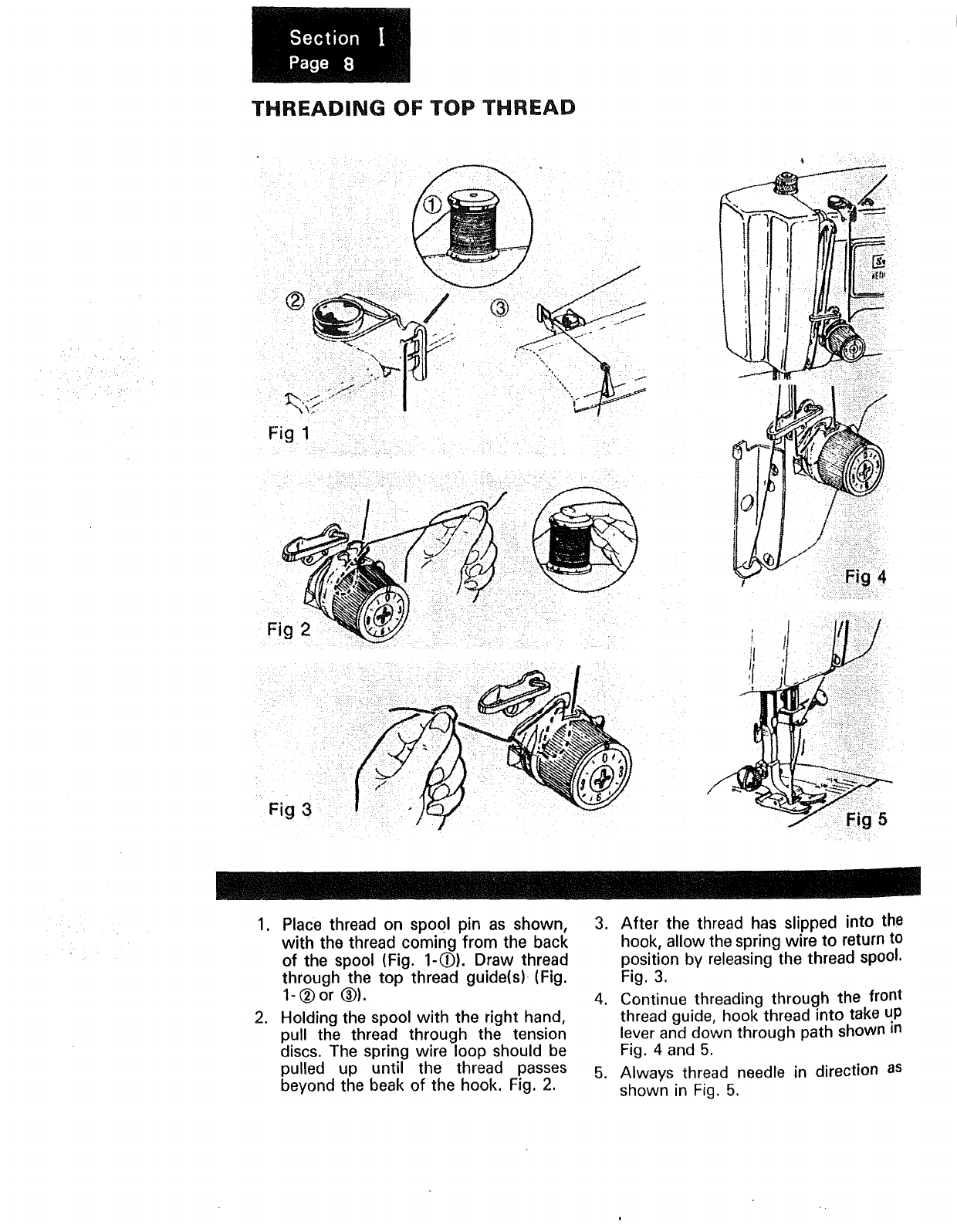 page 9 of kenmore sewing machine 1240 user guide