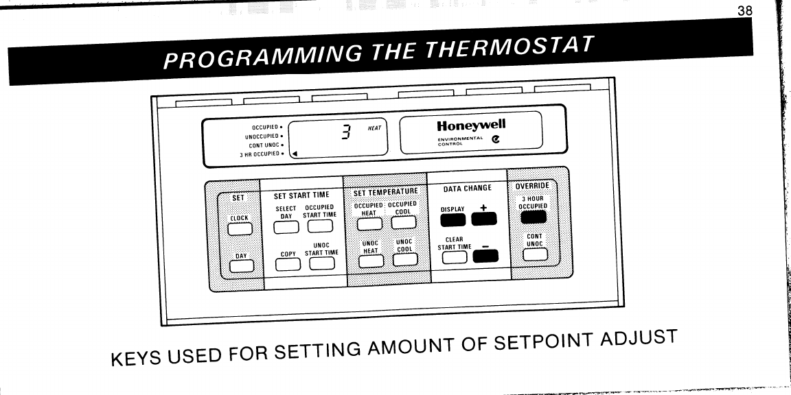 page 38 of honeywell thermostat t7300 user guide