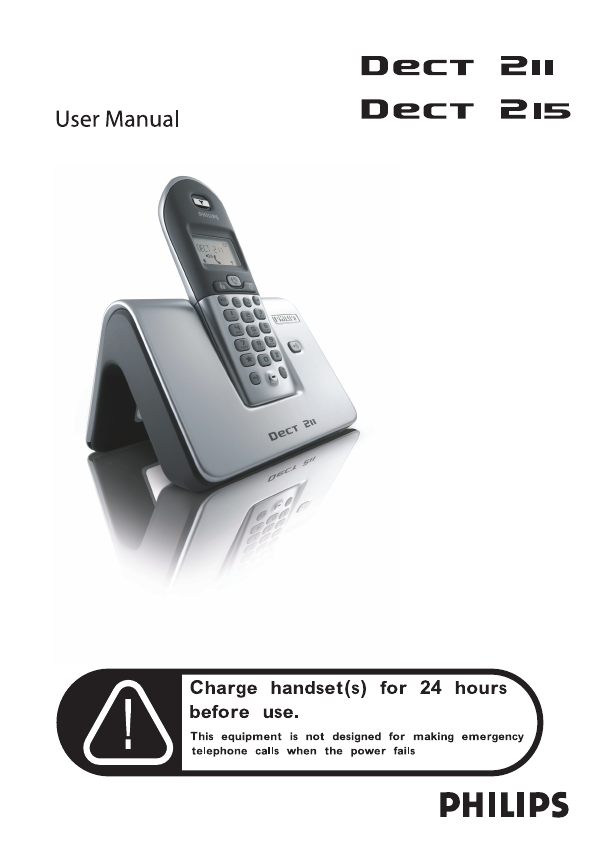 philips cordless telephone dect 211 user guide manualsonline com rh phone manualsonline com Philips DVD Player Manual Philips DVD Player Manual