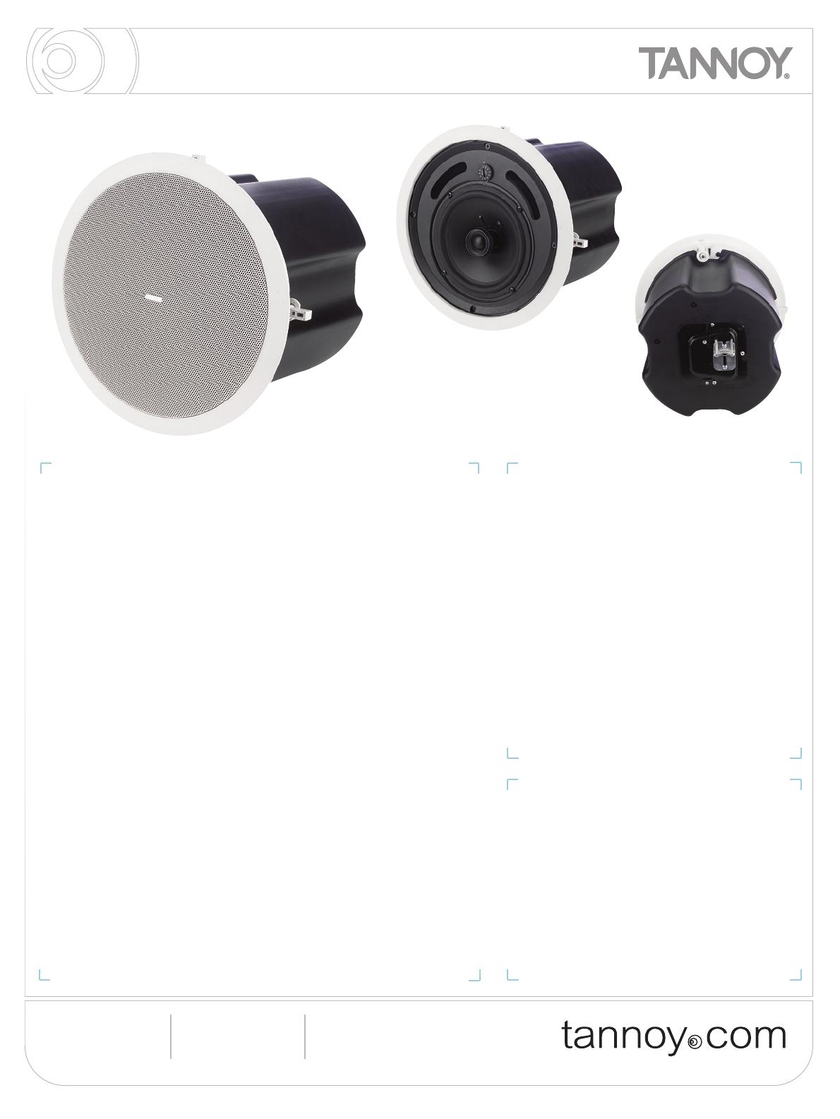 tannoy portable speaker cvs6 user guide manualsonline com rh portablemedia manualsonline com