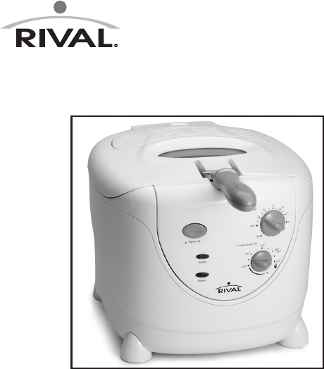 rival fryer czf530 user guide manualsonline com rh fitness manualsonline com Rival Outlet Store rival product manuals