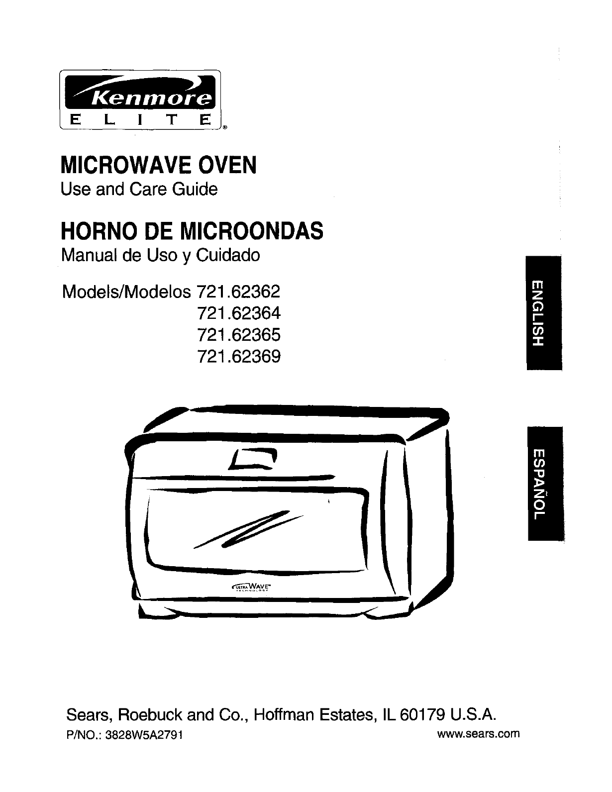 Kenmore Microwave Oven 721 62364 User