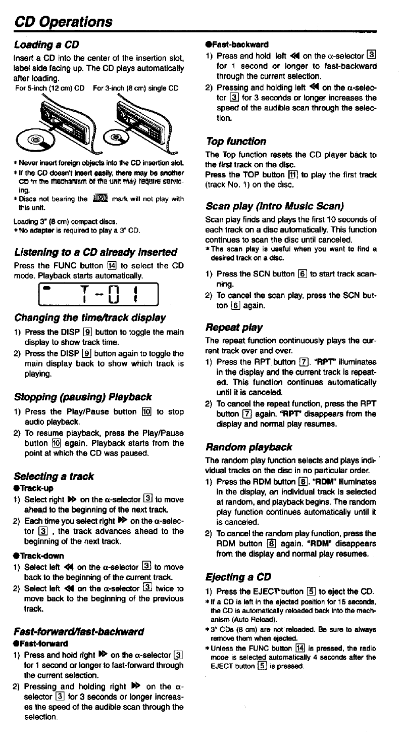 page 6 of clarion car stereo system drb3475 user guide rh caraudio manualsonline com