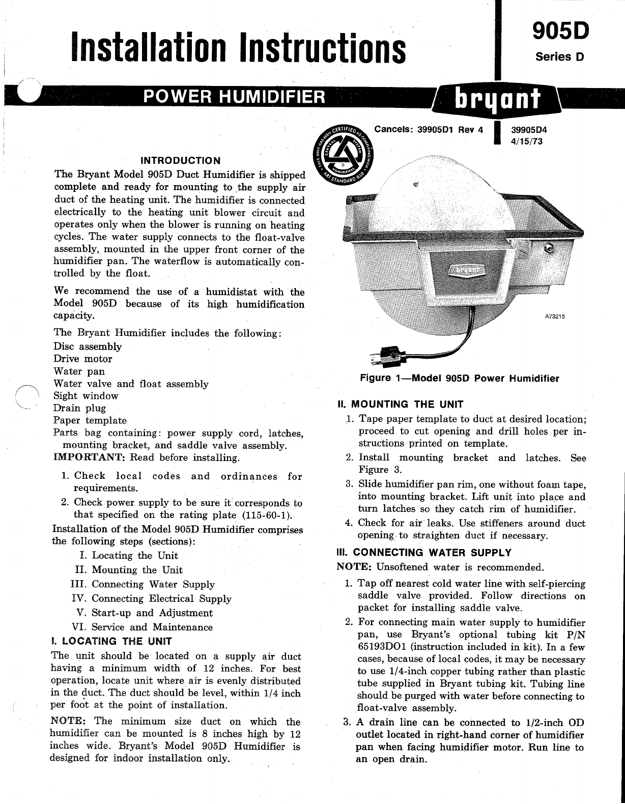 Bryant Humidifier Manual What Is A Wiring Diagram Next