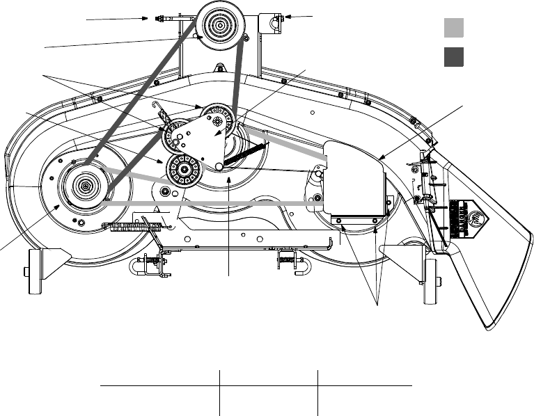 Bolens 38 Deck Belt Diagram