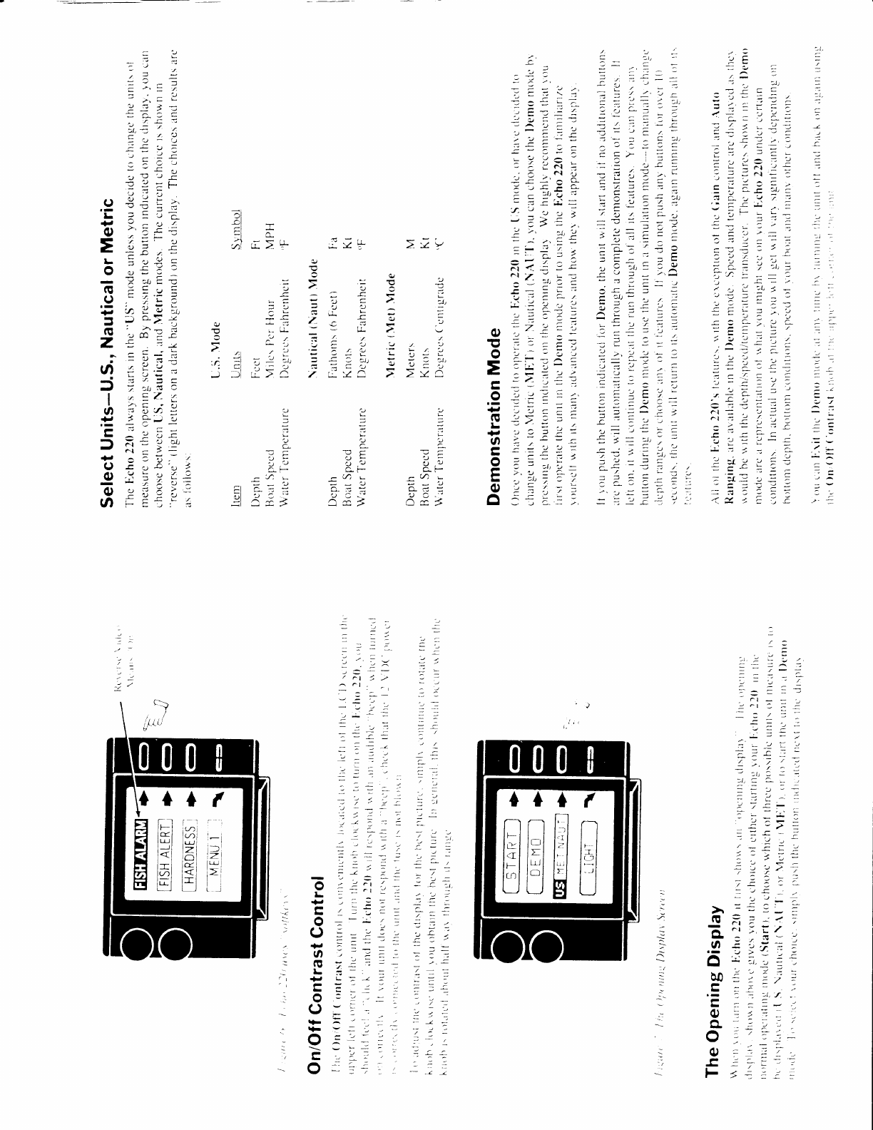 page 7 of interphase tech fish finder echo 220 user guide rh marine manualsonline com Tech Comments ACS Technical Manual