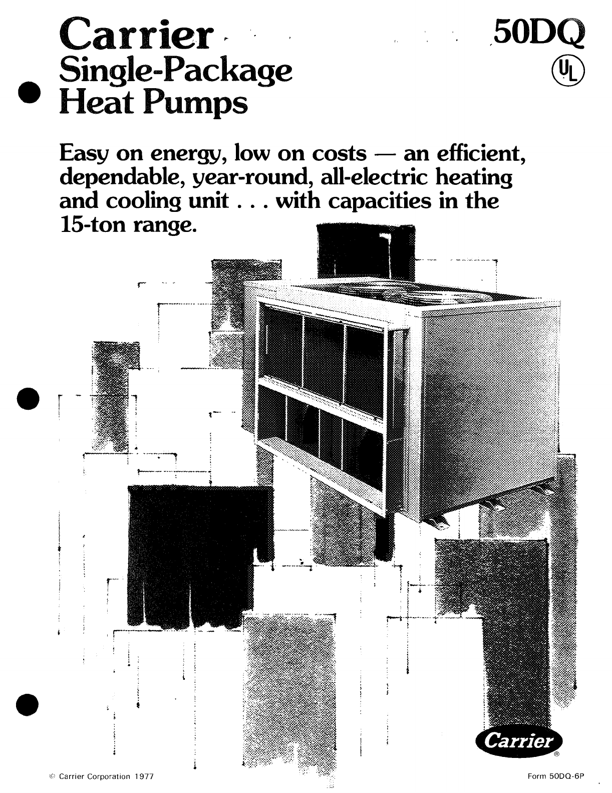 carrier heat pump 50dq user guide manualsonline com rh homeappliance manualsonline com carrier heat pump operation manual carrier infinity heat pump owner's manual