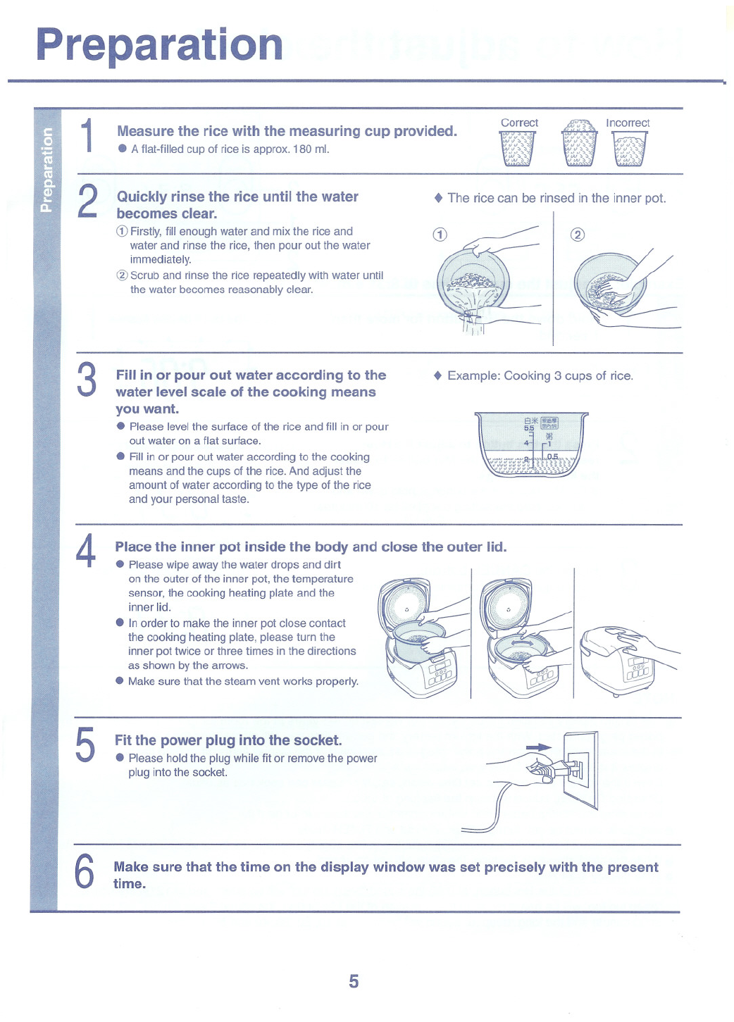 Page 5 of toshiba rice cooker rc 10nmf user guide manualsonline toshiba rc 10nmf rice cooker user manual maxwellsz