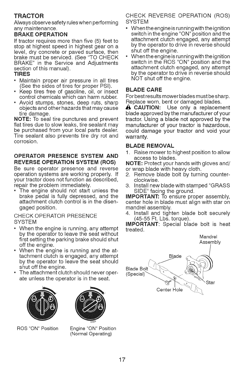 craftsman yt 4000 manual pdf