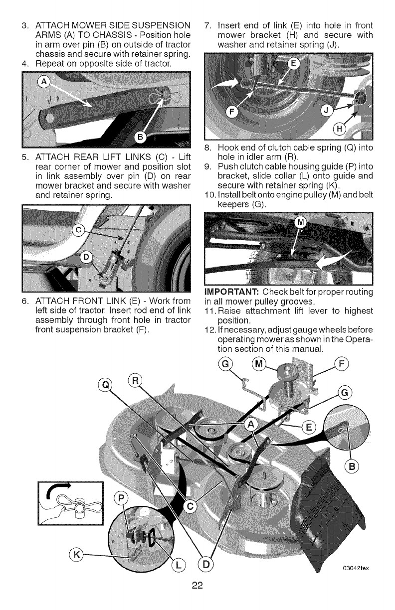 Page 22 Of Craftsman Lawn Mower Yt 4000 User Guide