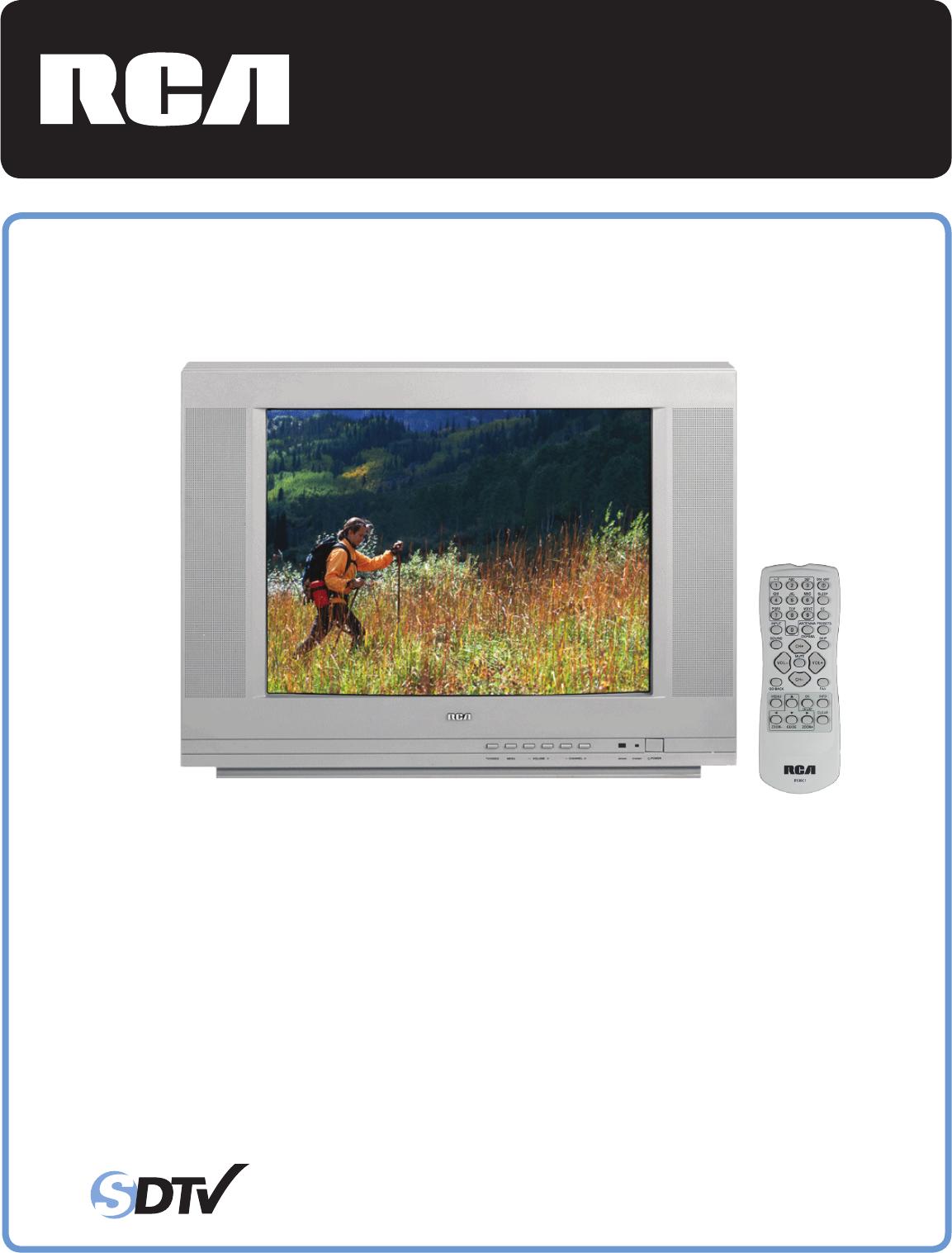 rca flat panel television 24v504t user guide. Black Bedroom Furniture Sets. Home Design Ideas