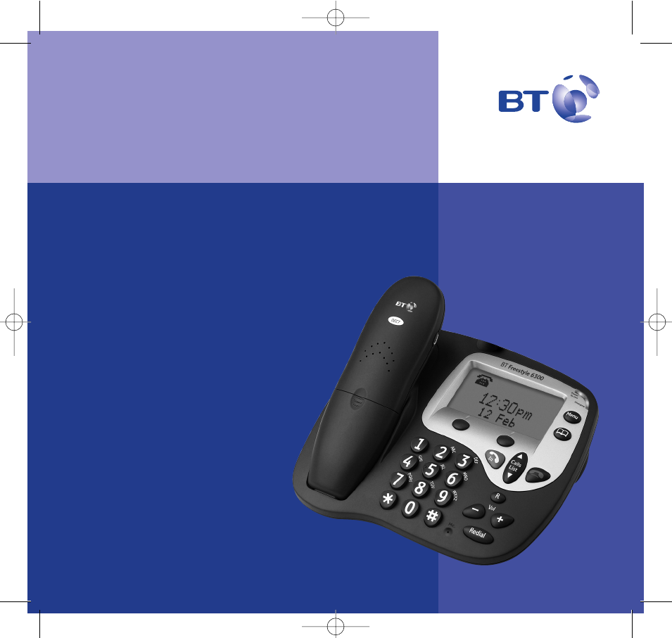 bt cordless telephone 6300 user guide