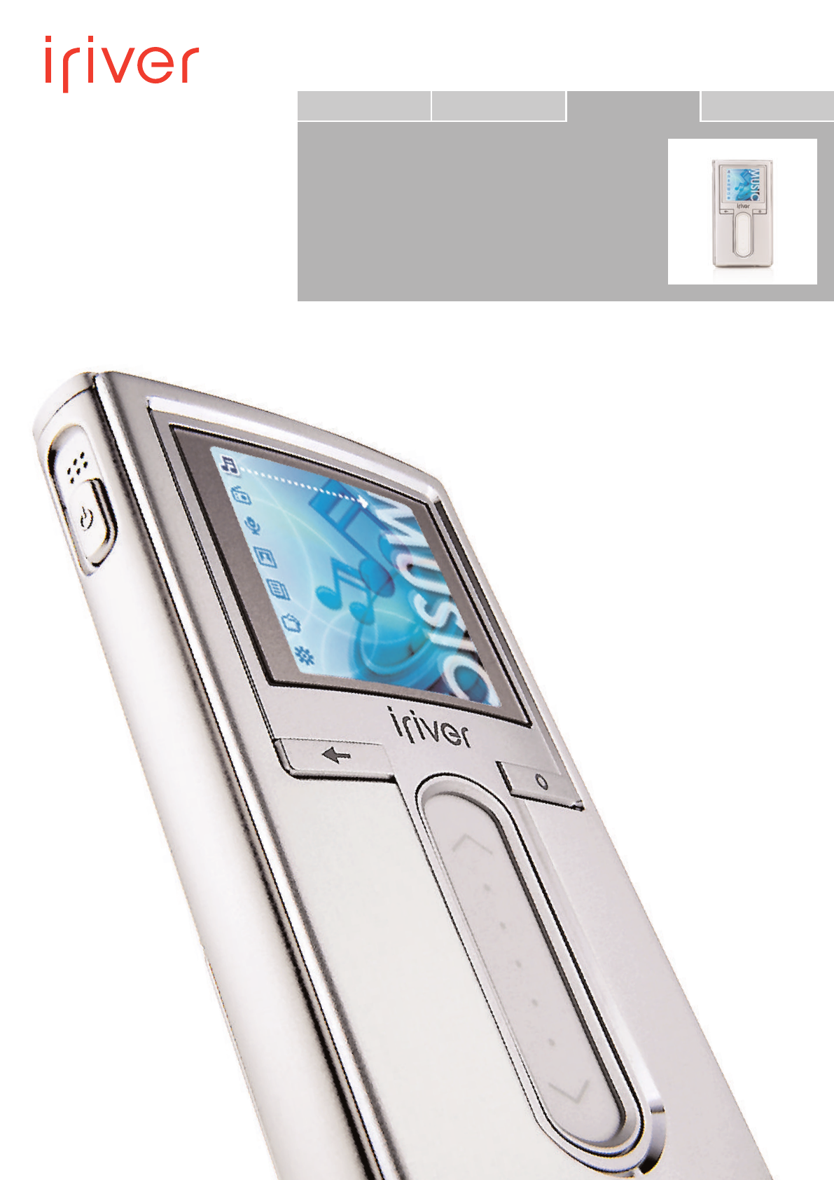 iriver mp3 player h10 user guide manualsonline com rh portablemedia manualsonline com Iriver Software Iriver Products