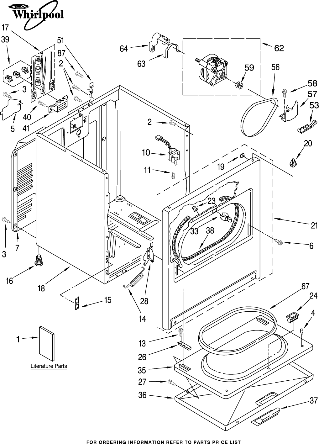 Clothes Dryer Parts ~ Whirlpool clothes dryer ler jq user guide