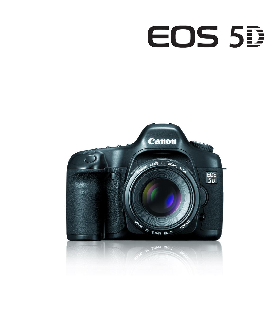 canon digital camera 5d user guide