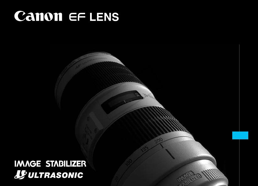 Canon Ef 70-200 Repair Manual