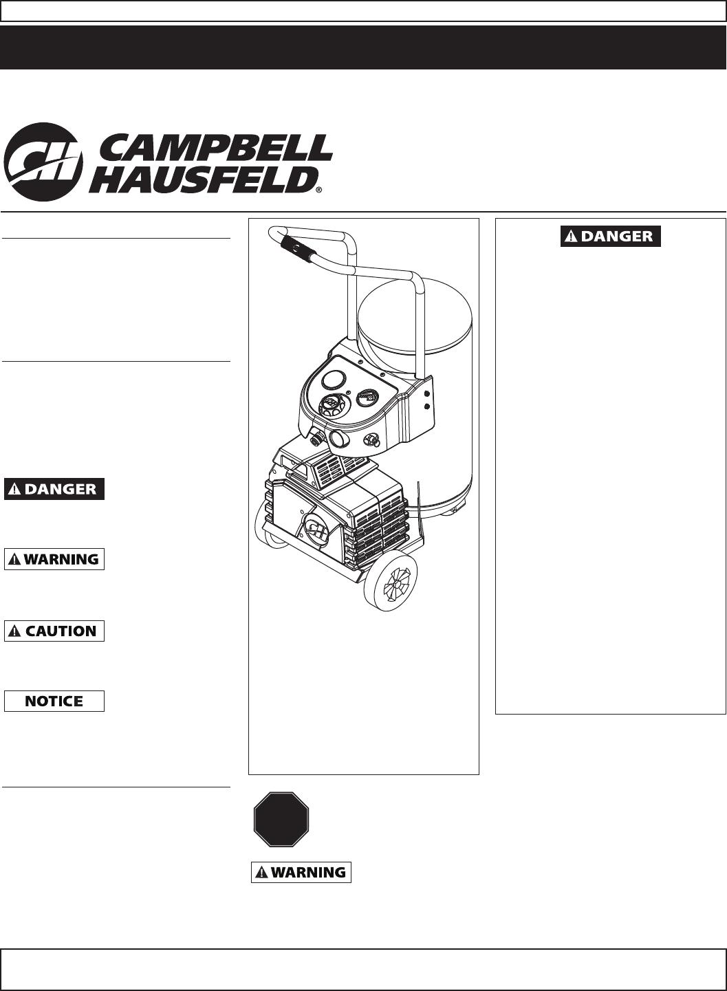 campbell hausfeld air compressor hg3000 series user guide